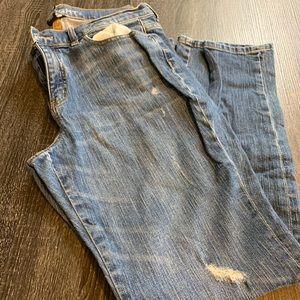 New York & Company Straight Denim Jeans